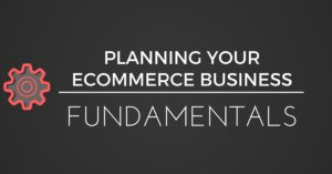 FUNDAMENTALS OF ECOMMERCE - PLANNING BLACK BACKGROUND
